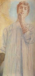 Fernand_Khnopff,_Silence,_1890,_Royal_Museums_of_Fine_Arts,_Brussels,_Belgium