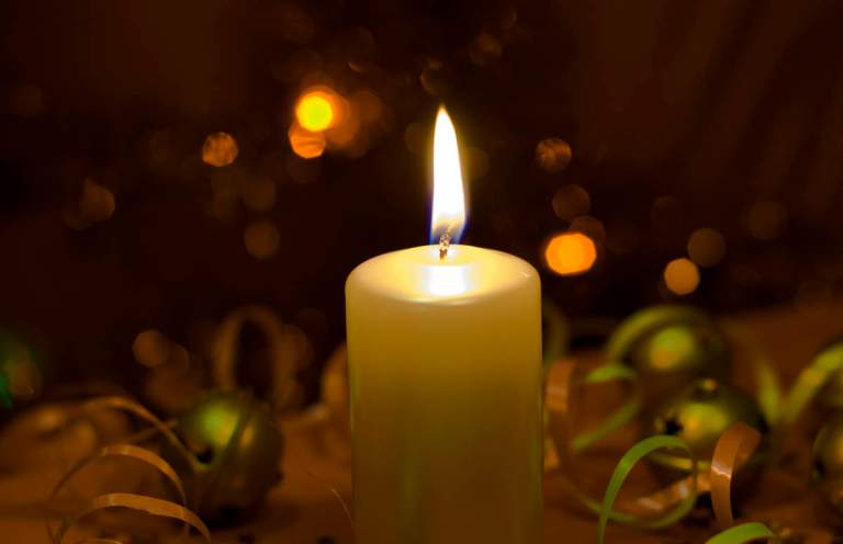 Celebration candlelight