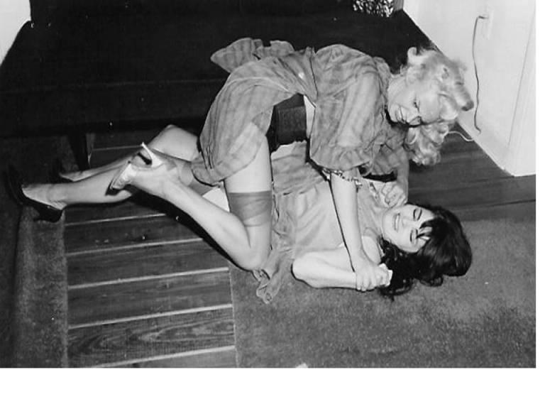 Vintage_Catfight_circa_1960