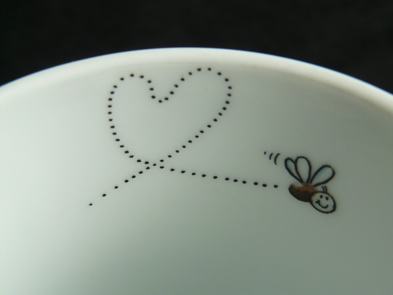Cute Heart Sweet Love Romance Trace Fly Mosquito