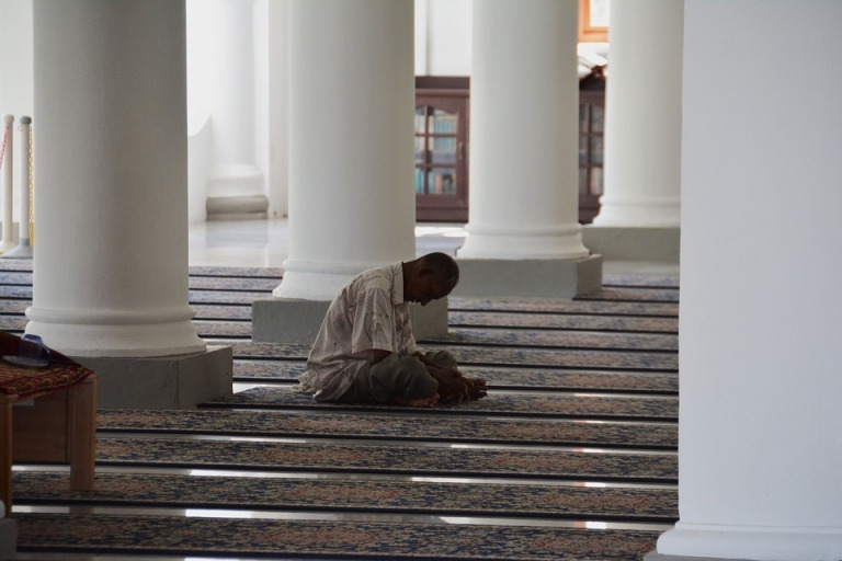 Muslim Pray Islamic Mosque Islam Religion Praying